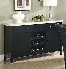 Dining Room Server Furniture Wine Rack Black Buffet Server With Wine Rack Buffet Server With