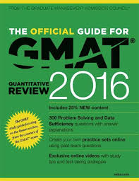 the official guide for gmat quantitative review 2016 1 edition