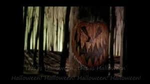nightmare before christmas this is halloween with lyrics youtube