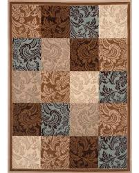 Blue Brown Area Rugs Impressive Area Rug Best Runners Outdoor Rugs On Blue And Brown In