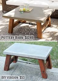 Pottery Barn Inspired Diy Dresser Best 25 Barn Table Ideas On Pinterest Glass Top Coffee Table