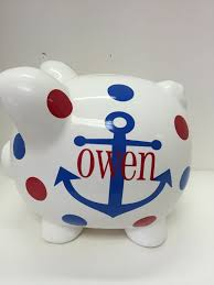monogrammed piggy bank 21 best personalized banks images on piggy banks