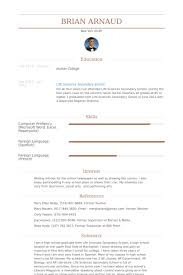 Babysitter Sample Resume by Babysitter Resume Samples Visualcv Resume Samples Database