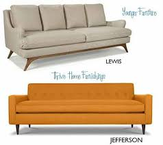 Mid Century Couch Best  Modern Sofas And Sectionals Ideas On - Affordable mid century modern sofa