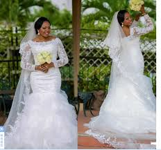 high quality mermaid style wedding dresses with long sleeves buy