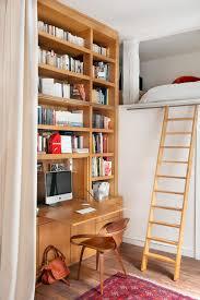 chambre d appoint mezzanine inspiration gain de place côté maison