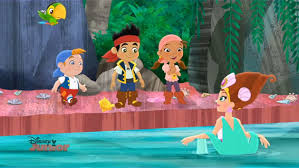 sleeping mermaid jake land pirates disney