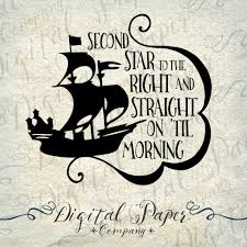 peter pan svg pirate ship star quote svg by digitalpapercompany
