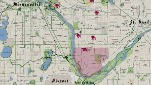 Minneapolis Neighborhood Map St Paul U0027s Highland Park Neighborhood Easy Access To Both