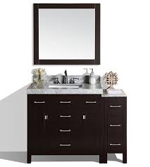 Bathroom Vanity With Side Cabinet 52