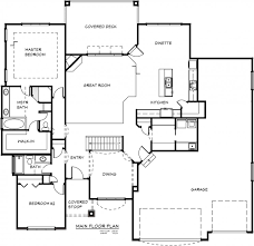 ranch style floor plans open luxury one story house plans with bonus room ranch indoor pool