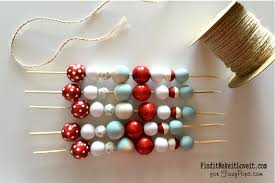 diy wood bead garland find it make it it