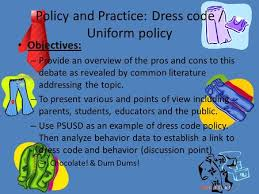 extended paragraphs uniforms some schools have no dress