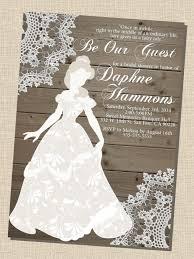 Bridal Shower Invitation Cards Designs Disney Bridal Shower Invitations Kawaiitheo Com
