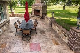 stamped concrete works decorative concrete contractor based in