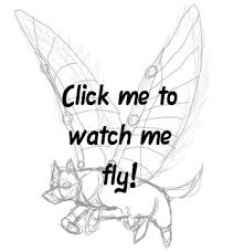 flying wolf animation by tephra76 on deviantart