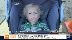 Baby Face Meme - baby drew is not amused on live tv hlntv com