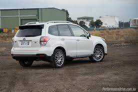 sti subaru white 2016 subaru forester ts sti review video performancedrive