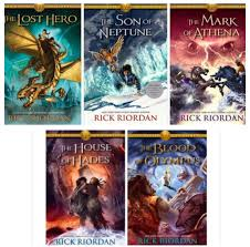 heroes of olympus collection 5 books set the lost hero the son of