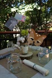 woodland themed baby shower decorations interior design amazing woodland themed table decorations room