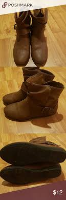payless womens boots size 12 womens size 8 5 wide brown booties brown ankle boots and boots