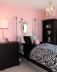 Pink And Black Wall Paint Ideas Best  Pink Black Bedrooms Ideas - Girls bedroom ideas pink and black