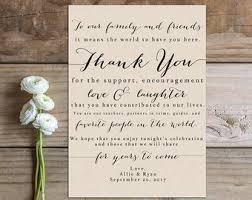 wedding thank you card image result for thank you reception cards wedding decorations