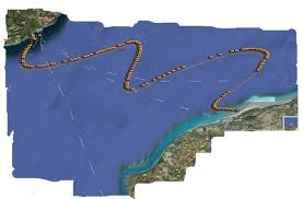 English Channel Map Channel Swimming U0026 Piloting Federation The Swim Route