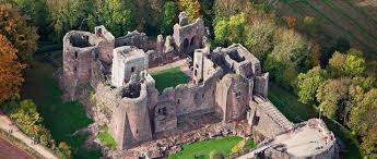 Historical Castles by Goodrich Castle English Heritage