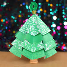folded paper tree ornaments what can we do with paper