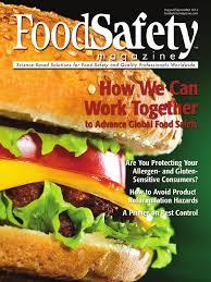 food safety agosto gluten free diet hazard analysis and