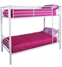 Florence Bunk Bed Available In Silver White Or Pink Simply Beds - Simply bunk beds