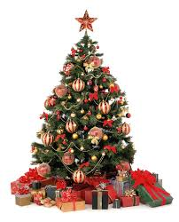 christmas tree decoration and gifts