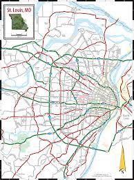 Map Missouri St Louis Mo Map