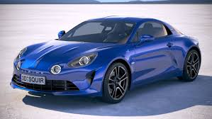 alpine a110 3d alpine a110 2018 model 1148559 turbosquid