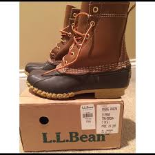womens duck boots for sale bean s l l bean duck boots from s closet on