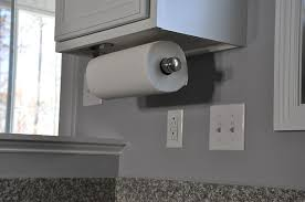 wooden paper towel holder under cabinet this comes coutertop or under cabinet mount don t know yet which