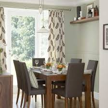 modern dining room curtains home design ideas