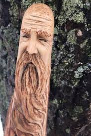 this free mountain man cane topper pattern can be used for your