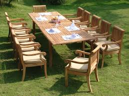 outdoor teak dining table with benches large round perth uk