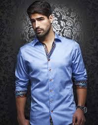 dress shirt light blue dress shirt au noir shirts caruso light blue