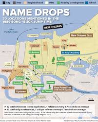 Map Of New Orleans Usa by New Orleans Bounce Music Evokes A Powerful Poignant Sense Of