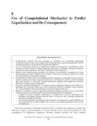 8 use of computational mechanics to predict liquefaction and its