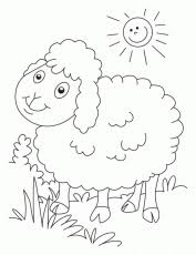 coloring pages superb sheep coloring coloring id 252588