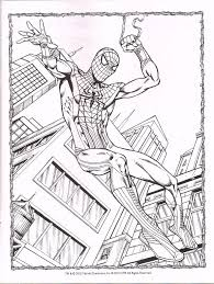 spiderfan org comics spider man color activity bendon