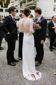 wedding dress london a self portrait dress for a modern and fuss free london wedding