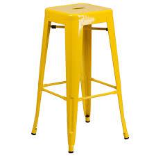 indoor outdoor counter height stool flash furnitur furniture ch 31320 30 yl gg 30 yellow stackable metal indoor