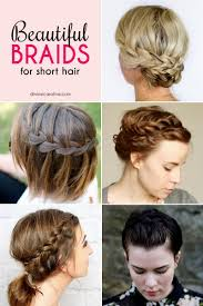 how to braid short hair step by step easy hairstyles braids short hair hairstyles ideas