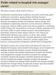 managment resume top 8 hospital risk manager resume samples