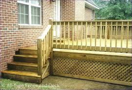 stainless steel decking rails deck railing ideas cable horizontal